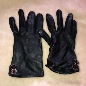 Charter Club S/M Leather gloves